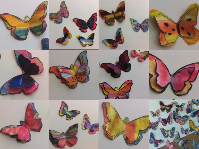 bevy of butterflies