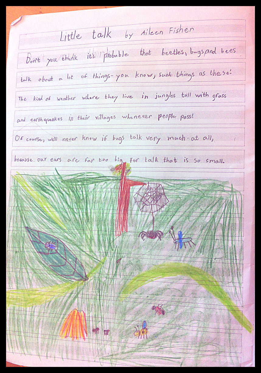 math worksheet : second grade poetry journals « english classes at cygnaeus school : Poems For Second Graders To Memorize