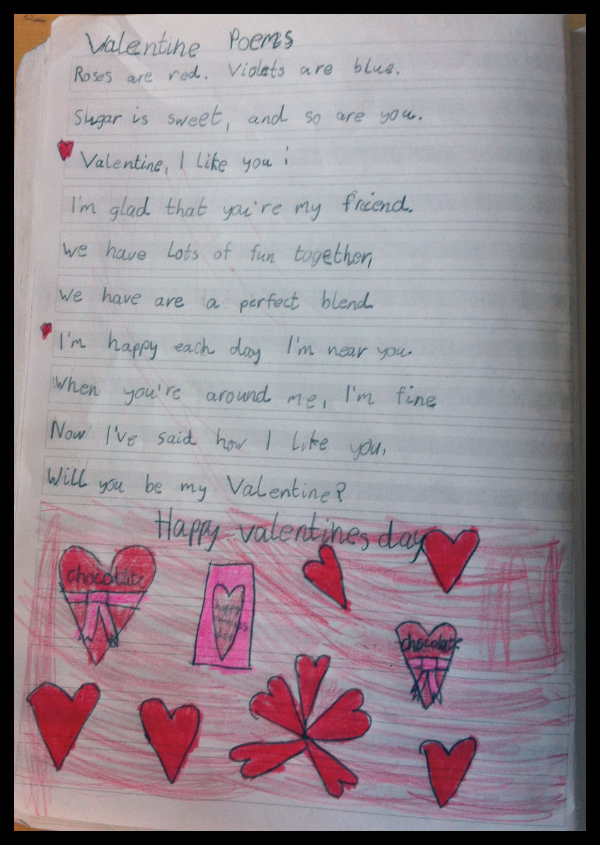 math worksheet : second grade poetry journals « english classes at cygnaeus school : Poems For 2nd Graders To Memorize