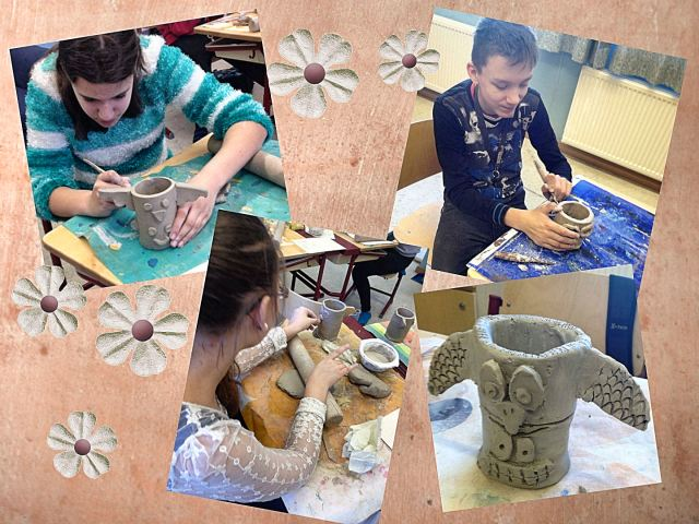 clay totems