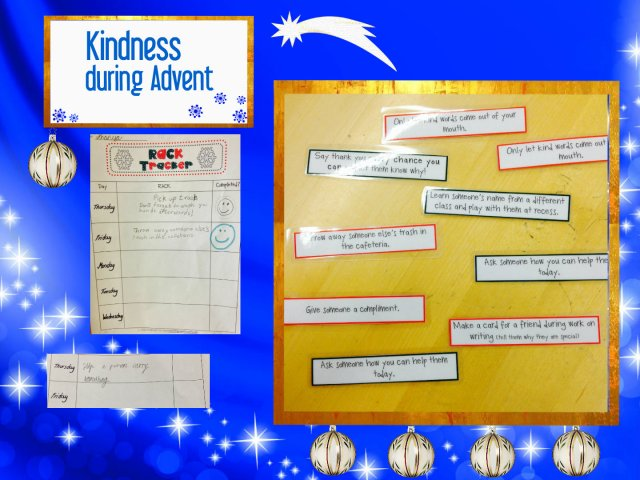 kindness advent