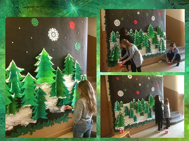 school christmas decorations english classes at cygnaeus. Black Bedroom Furniture Sets. Home Design Ideas