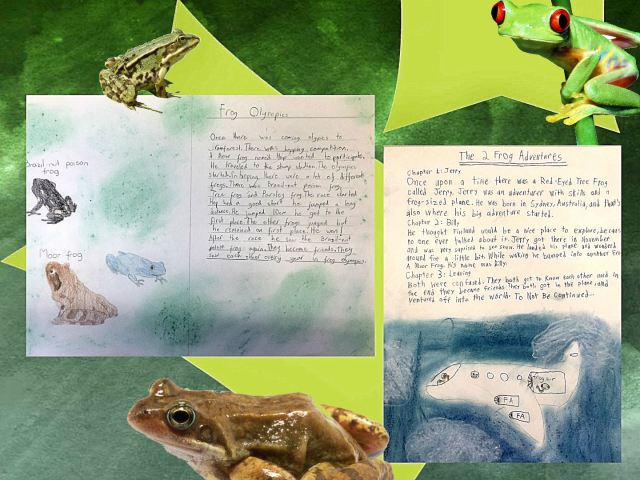 frog stories
